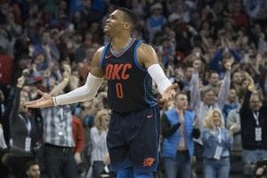 Данки Уестбрука й Казінса серед кращих моментів матчів НБА