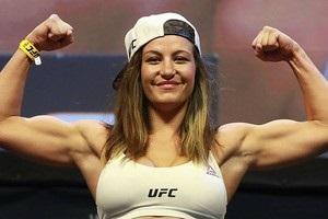 Экс-чемпионка UFC Миша Тейт станет мамой