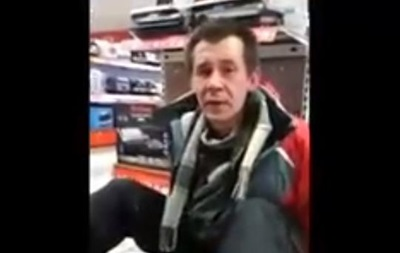 В Киеве вооруженный мужчина пытался ограбить магазин техники