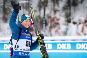 Биатлон: Вита Семеренко взяла бронзу в пасьюте Оберхофа
