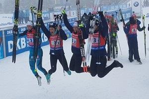 Біатлон: Україна залишилася без медалі в жіночій естафеті в Оберхофі