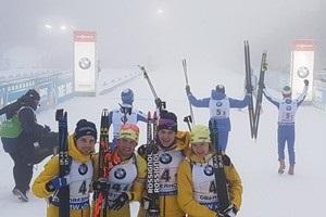 Биатлон: сборная Украины провалила мужскую эстафету Оберхофа