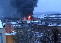 На заводе-флагмане тяжелого машиностроения Украины произошел пожар