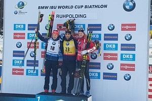 Біатлон: Фуркад виграв четверту гонку поспіль