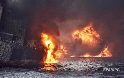 Иранский танкер затонул спустя 8 дней после столкновения