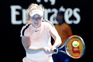 Світоліна не без проблем пройшла до третього кола Australian Open