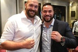 Тайсон Ф юрі може вивести Паркера до рингу на бій з Джошуа