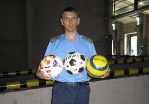 Одесские таможенники задержали партию футбольных мячей из Пакистана