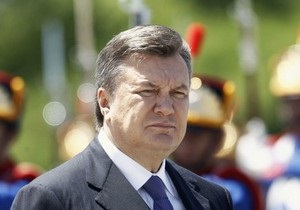 Янукович: План реформ в Украине выполнен наполовину