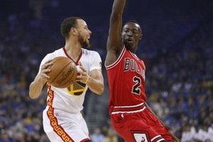 НБА: Голден Стейт обіграли Чикаго, Лейкерс поступилися Оклахомі