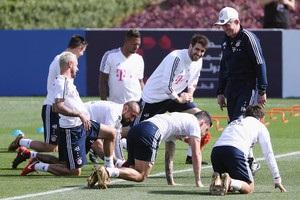 Гравці Баварії ледь не побилися на тренуванні - Bild