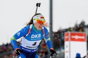 Домрачева прокоментувала свій вчинок на фініші гонки переслідування