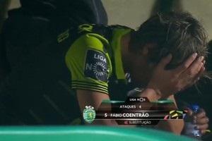 Экс-игрок Реала после своей замены разгромил скамейку и расплакался