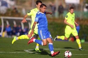 Динамо вничью завершило контрольный матч с Хеугесундом