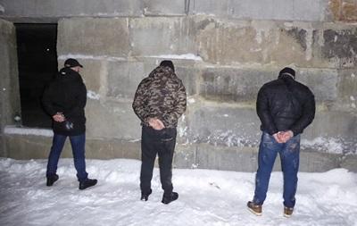 В Киеве по  горячим следам  поймали похитителей человека