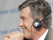 Ющенко улетел в Канаду