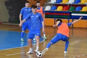 Сборная Украины по футзалу добыла победу в товарищеском матче перед Евро-2018