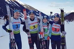 Біатлон: Україна виграла естафету на чемпіонаті Європи