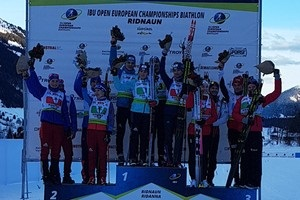 Україна - друга в медальному заліку ЧЄ з біатлону