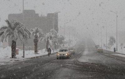 На півдні Марокко вперше за 50 років випав сніг