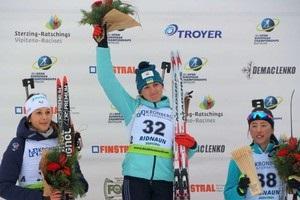 Биатлон: Варвинец стала лучшей спортсменкой Украины в январе