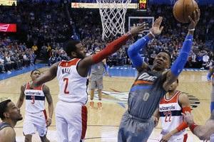 НБА: Вашингтон обыграл Оклахому, Кливленд уступил Детройту