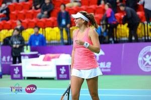 Козлова вышла в четвертьфинал турнира в Тайбэе