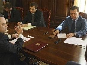 Медведев пообщался с оппозицией