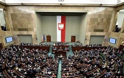 Сенат Польщі не змінив  бандерівський закон
