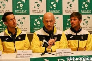 Кубок Дэвиса: Стаховскому выпал жребий начать матч со Швецией