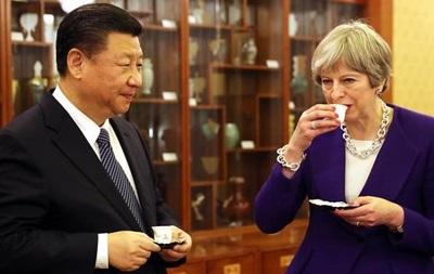 Мэй предсказывает  золотой век  в отношениях с Китаем