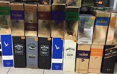 На Чернігівщині вилучили велику партію підробленого алкоголю