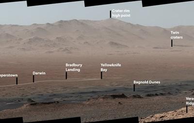Марсоход показал панораму Красной планеты