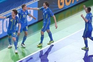 Футзал: Украина вырвала победу у Румынии и вышла в четвертьфинал Евро