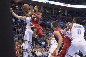 НБА: Филадельфия обыграла Майами, Оклахома уступила Новому Орлеану