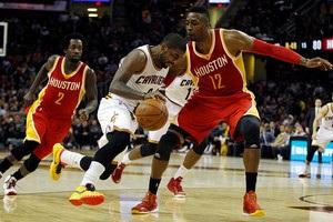 НБА: Хьюстон разгромил Кливленд, Сан-Антонио проиграл Юте