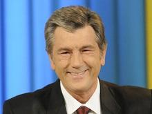 Ющенко послал депутатам радостную телефонограмму