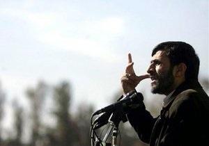 Ахмадинеджад: На Ближнем Востоке для Израиля не будет места