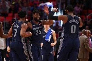 НБА: Дабл-дабл Драммонда помог Детройту победить Портленд, Индиана уступила Вашингтону