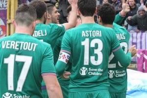 В Италии команды обменялись голами после прямых ударов с углового