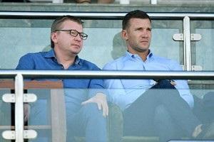 Шевченко посетил матч Шахтера в Дубае