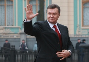 Янукович отбыл в Крым