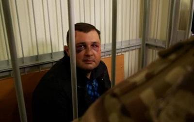 Избитого Шепелева привезли в Печерский суд