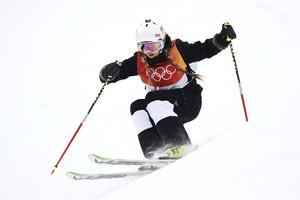 Петрова: Складно бути першою українською могулісткою на Олімпіаді