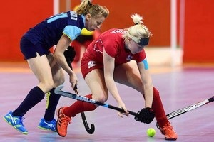 Жіноча збірна з індорхокею вийшла у чвертьфінал чемпіонату світу