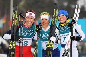 Шведка Калла завоевала первое золото зимних Олимпийских игр 2018 года