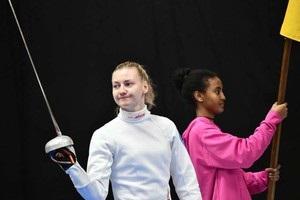 Украинская шпажистка Кривицкая выиграла бронзу на Кубке мира