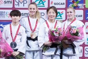 Білодід виграла золото на турнірі серії Grand Slam у Парижі з дзюдо