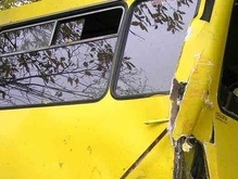 В Киевской области перевернулся пассажирский автобус