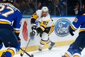 НХЛ: Сент-Луис уступил Питтсбургу,  Вашингтон – Детройту